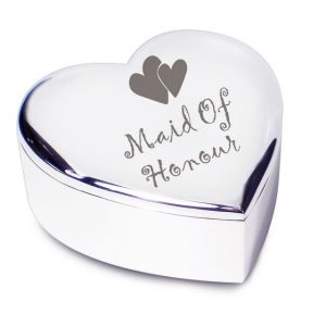 Maid of Honour Heart Trinket