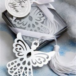 Angel Bookmark Winter Wedding Favour
