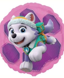 Pink Paw Patrol 18 inch Double-Sided Foil Balloon
