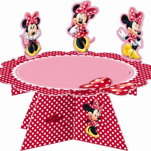 Minnie Mouse Cake Stand