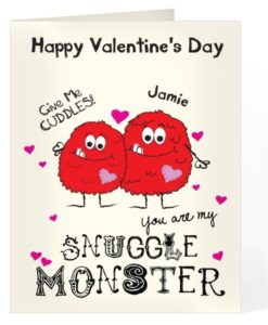 Personalised Valentines Cards