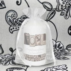 Personalised Affection Art Noel Candle
